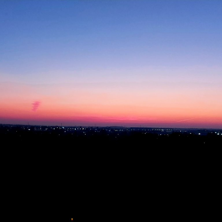 luton sunset